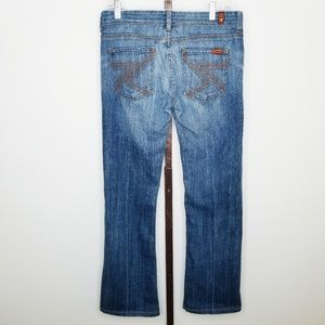 7FAM 7 For All Mankind 28 Flynt Bootcut Jeans